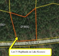 Home for sale: Lot 25 Highlands On Lake Keowee Lot 25 Island Dr., Six Mile, SC 29682