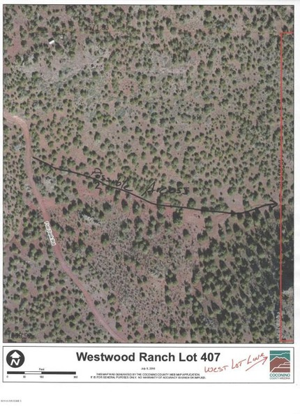 407 Westwood Ranch Lot, Seligman, AZ 86337 Photo 1