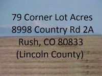 Home for sale: 8998 Country Rd. 2a, Rush, Divide, CO 80833