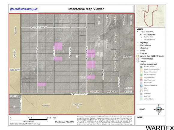 9 Lots W. Thirteenth St., Dolan Springs, AZ 86441 Photo 1