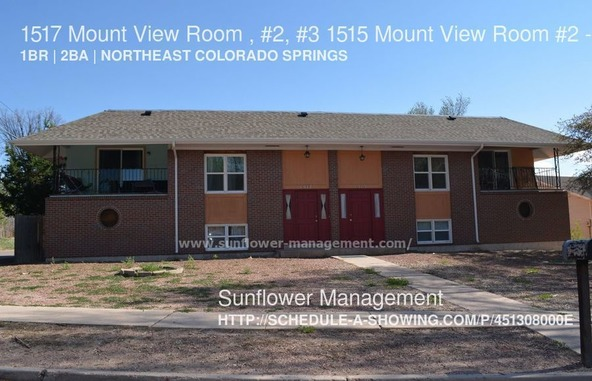 1517 Mount View Room , #2, #3 1515 Mount View Room #2, Colorado Springs, CO 80907 Photo 1