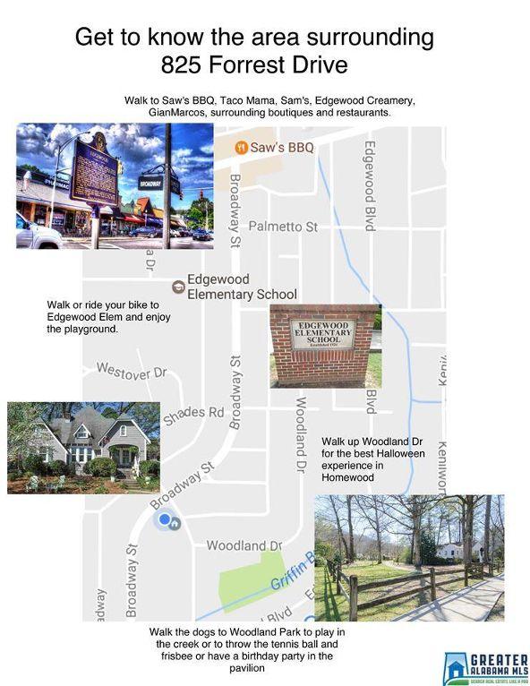 825 Forrest Dr., Homewood, AL 35209 Photo 4