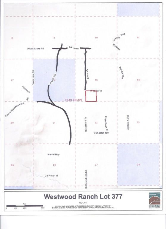 377 Westwood Ranch Lot 377, Seligman, AZ 86337 Photo 4