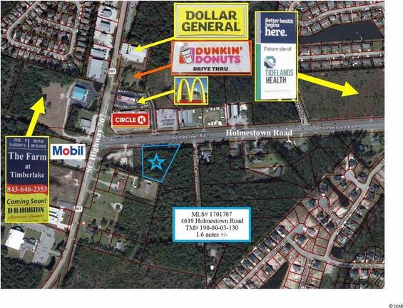 4619 Holmestown Rd., Myrtle Beach, SC 29588 Photo 1